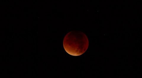 """A Lunar eclipse"" 2015"